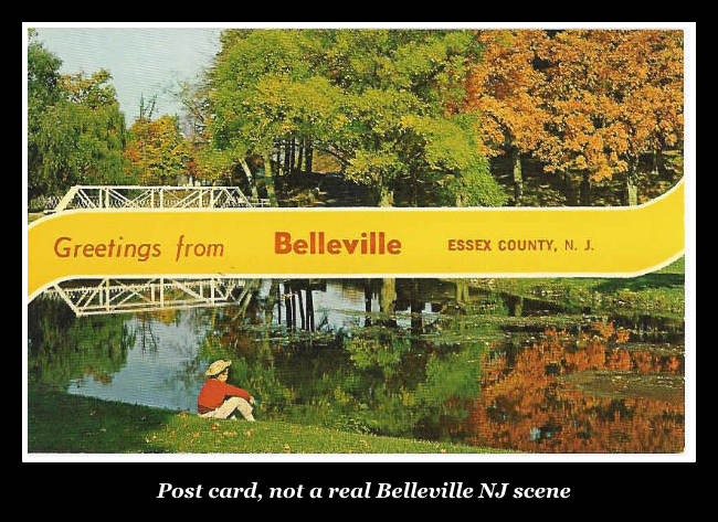 Greetings from Belleville - post card